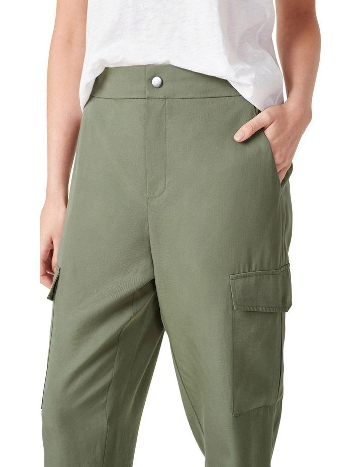 Lyocell Cargo Pant image 4