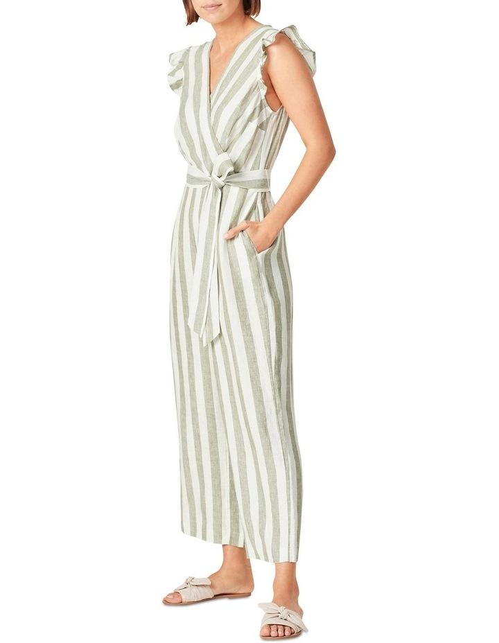 Linen Stripe Jumpsuit image 2