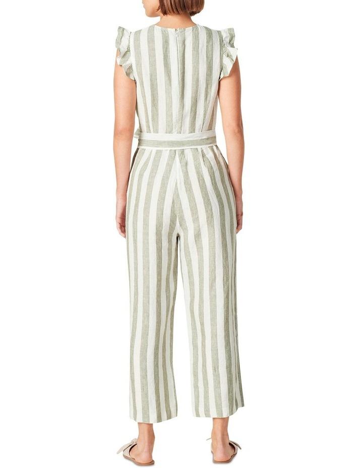 Linen Stripe Jumpsuit image 3