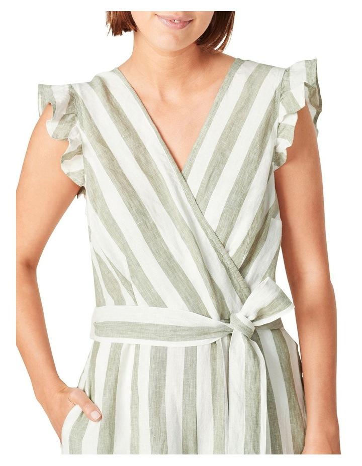 Linen Stripe Jumpsuit image 4