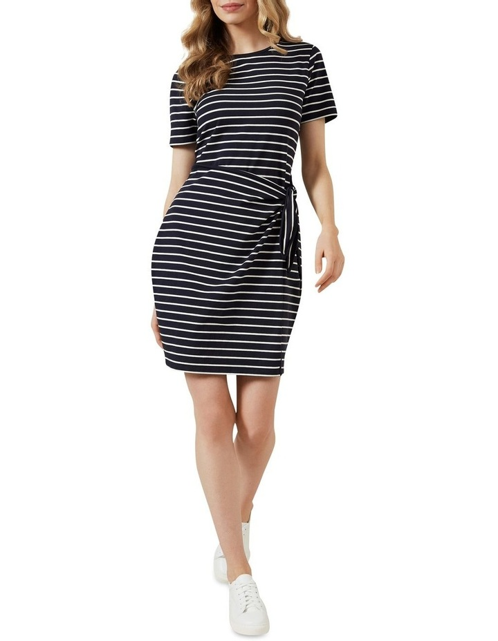Stripe Wrap Dress image 2