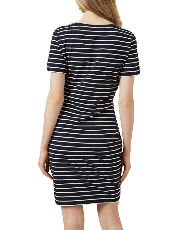 Stripe Wrap Dress image 3