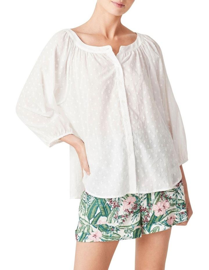 Button Down Cotton Blouse image 1