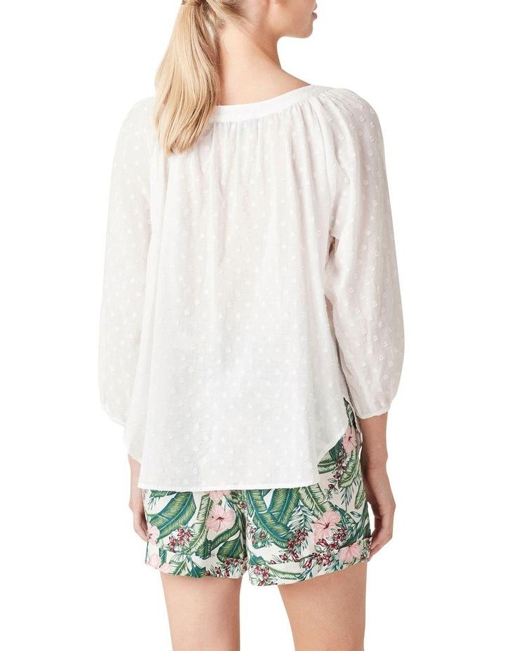 Button Down Cotton Blouse image 3