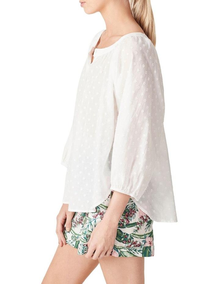 Button Down Cotton Blouse image 5
