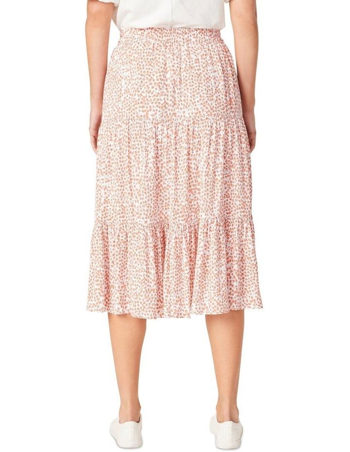 Crinkle Ditsy Midi Skirt image 3