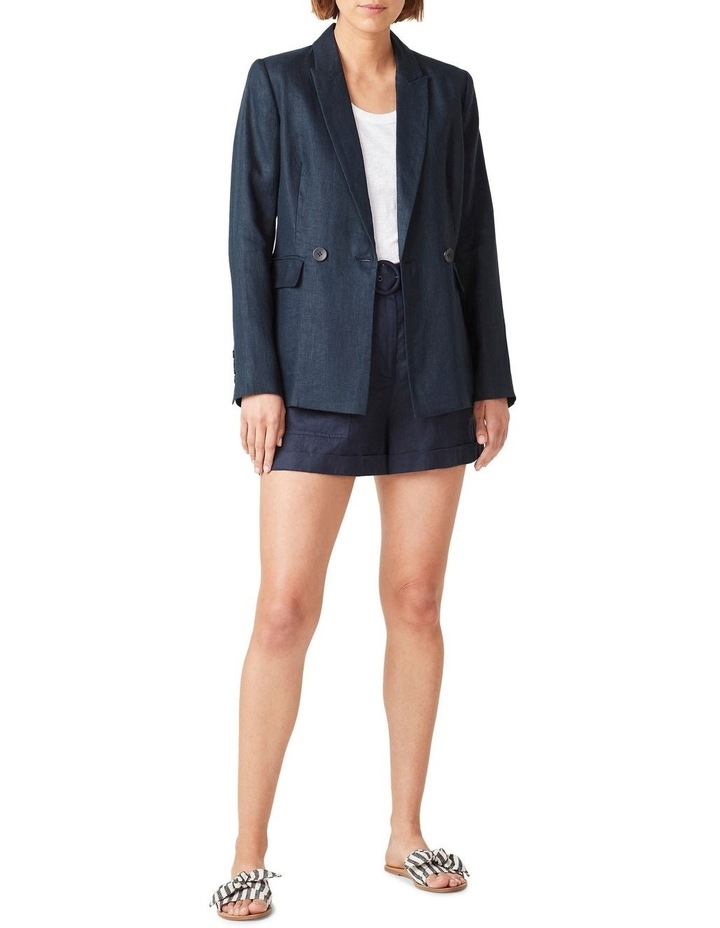 Linen Relaxed Blazer image 2