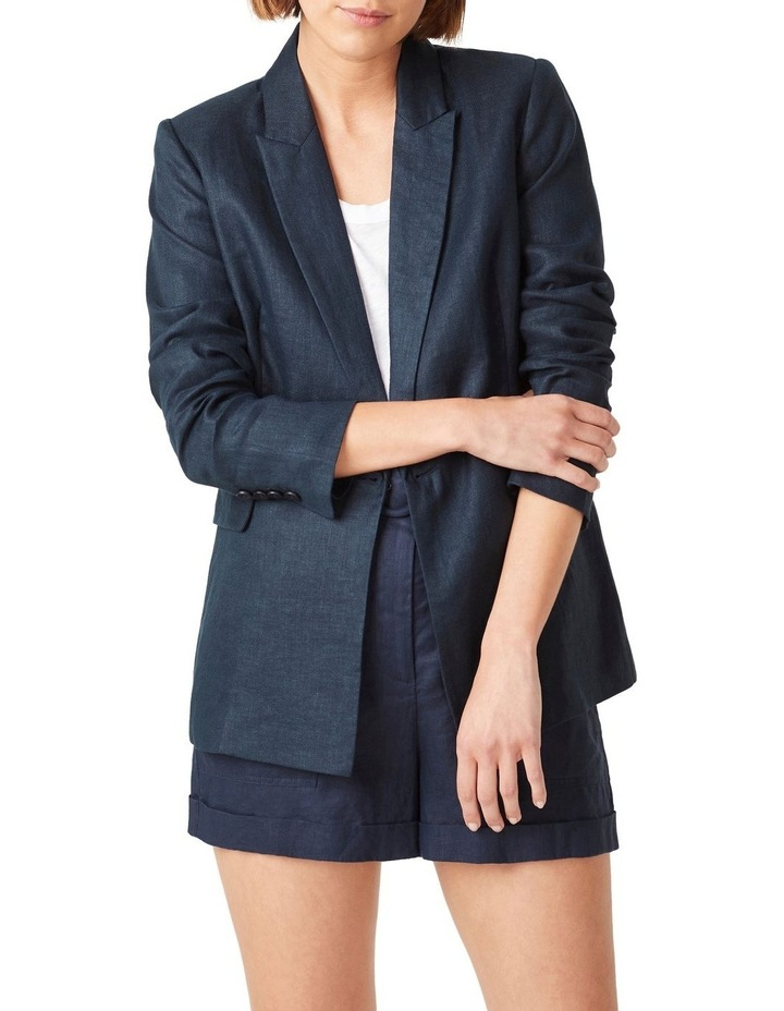Linen Relaxed Blazer image 4