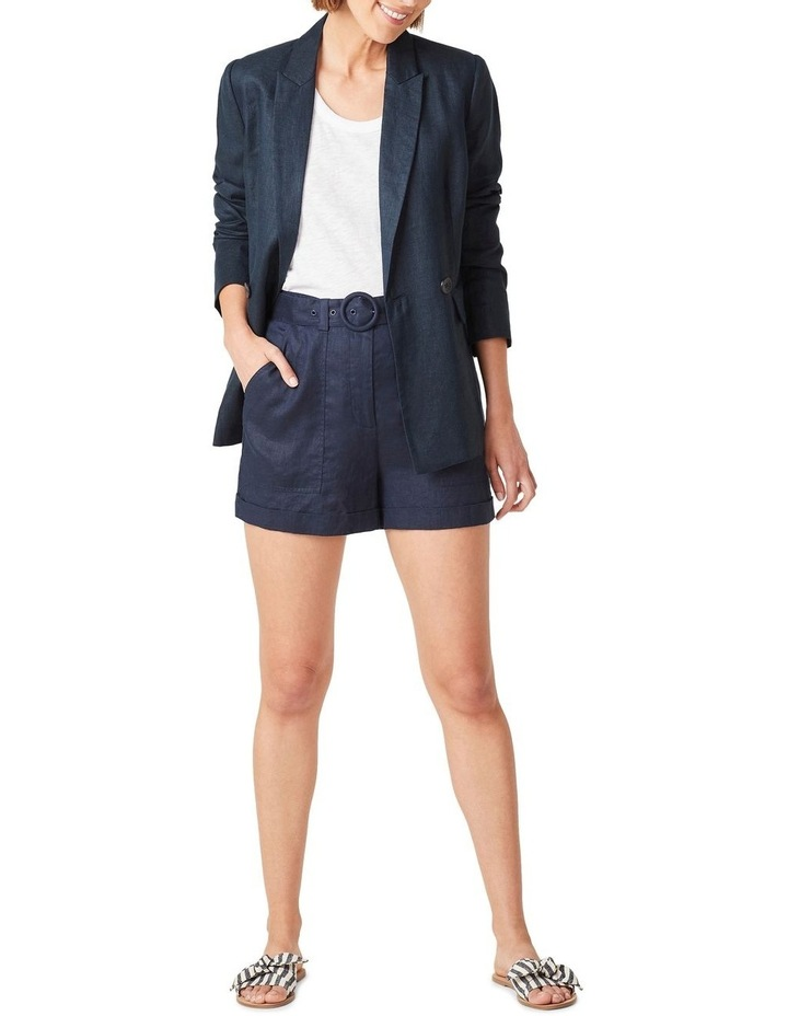 Linen Relaxed Blazer image 5