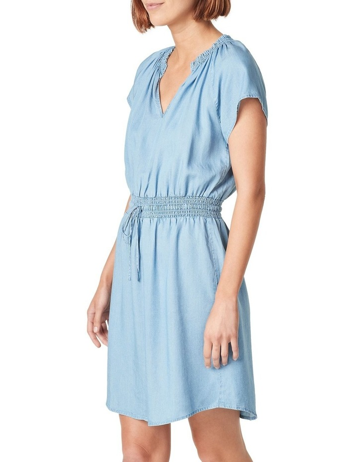 Short Sleeve Lyocell Mini Dress image 1