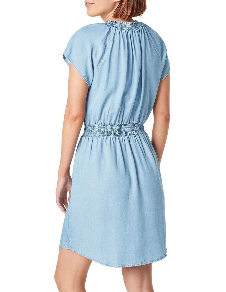 Short Sleeve Lyocell Mini Dress image 3