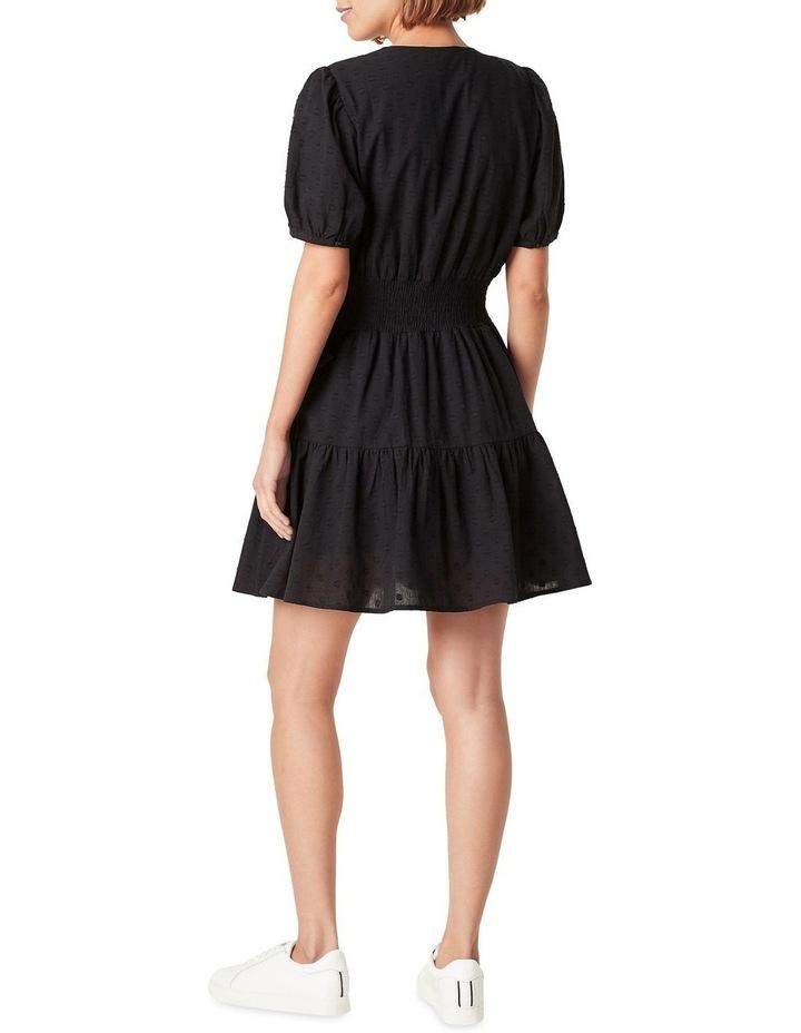 Dobby Tiered Dress image 3
