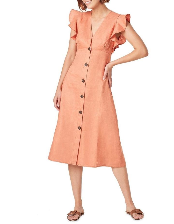 Flutter Sleeve Midi Dress image 2