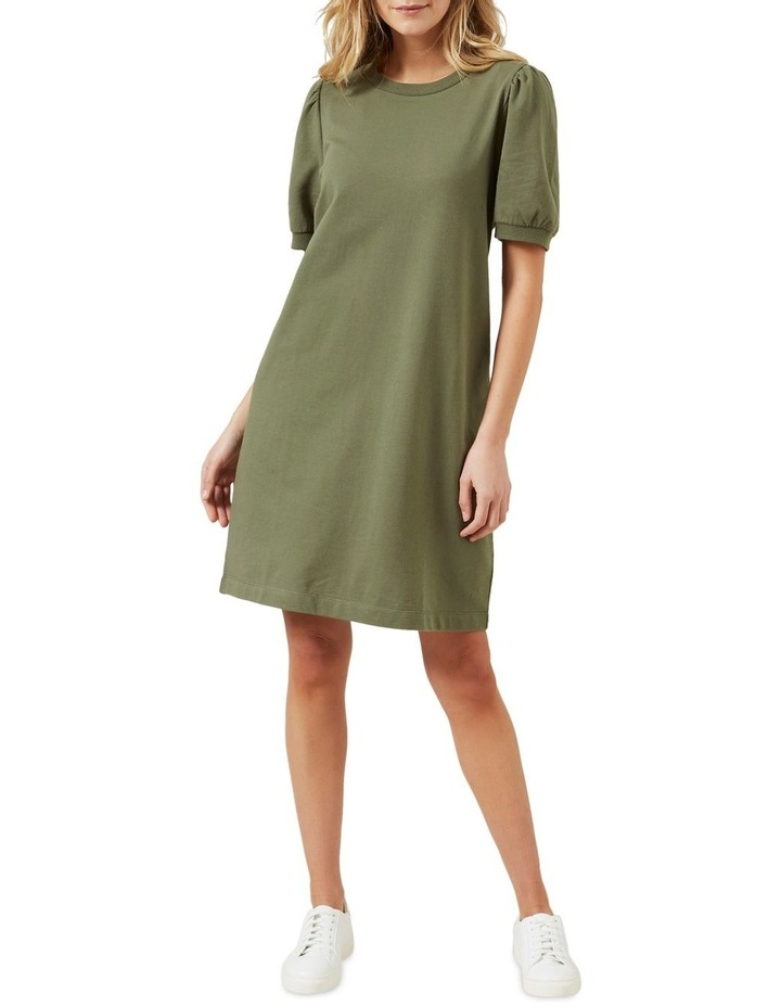 Puff Sleeve Sweat Dress image 2