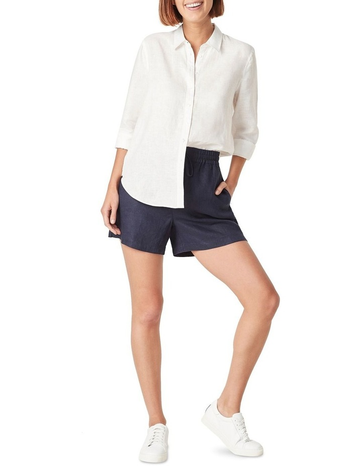 French Linen Boyfriend Shirt image 5
