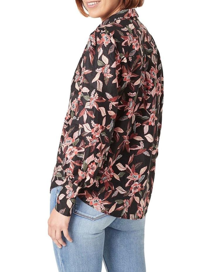 Tropical Puff Sleeve Shirt image 3