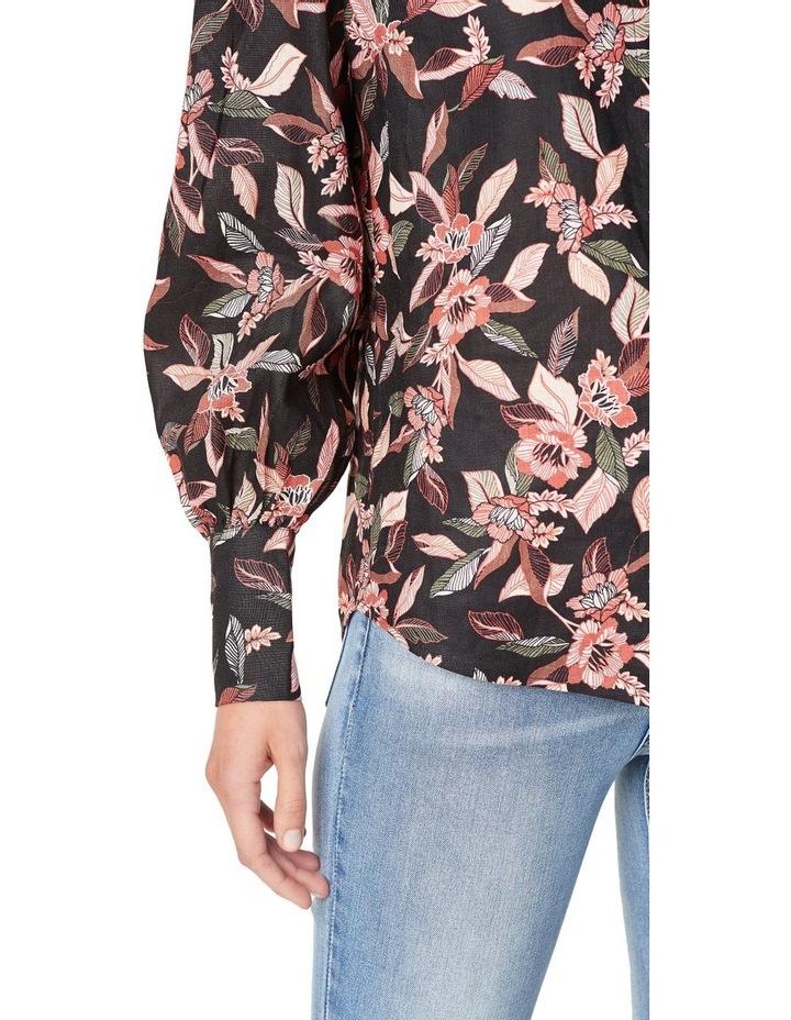 Tropical Puff Sleeve Shirt image 4
