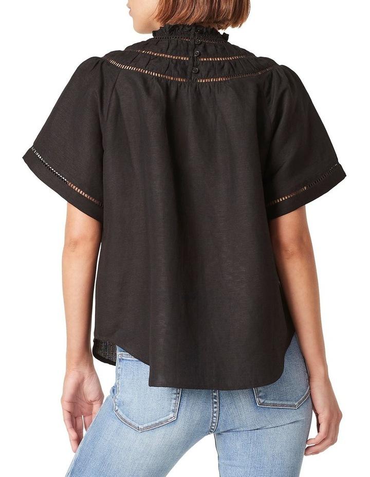 Ladder Stitch Linen Shirt image 3