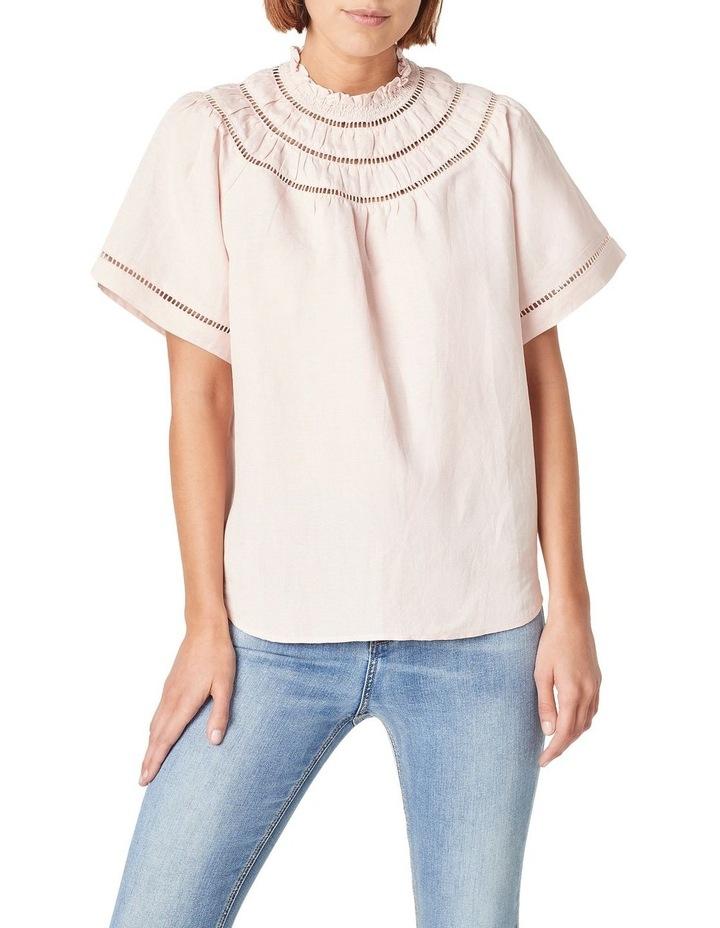 Ladder Stitch Linen Shirt image 1