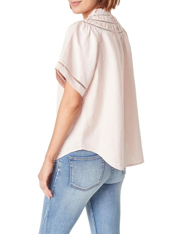 Ladder Stitch Linen Shirt image 2