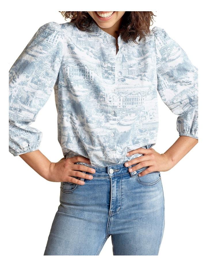 Scenic Puff Sleeve Shirt image 1