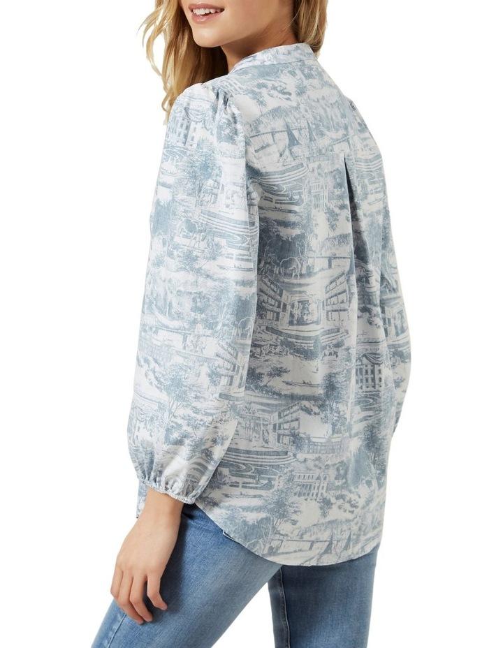 Scenic Puff Sleeve Shirt image 3