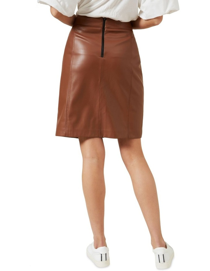 Faux Leather Skirt image 3