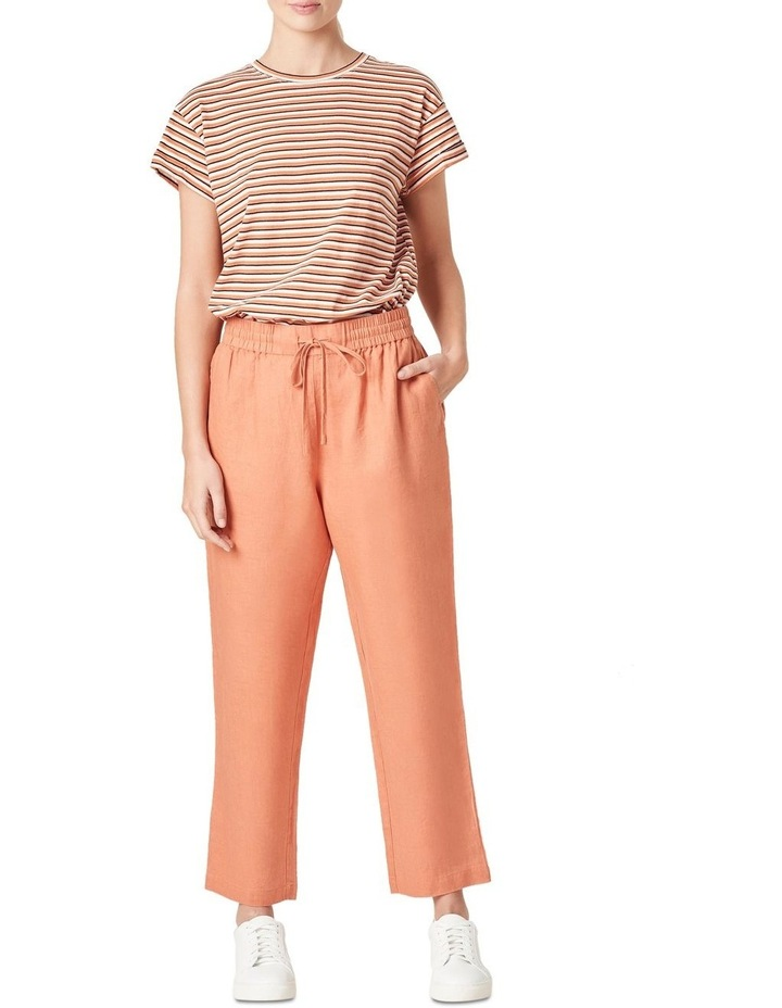 French Linen Relaxed Pant image 2
