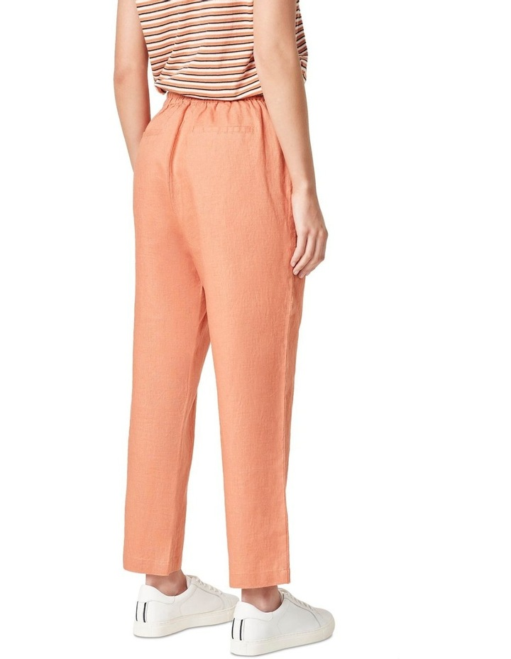 French Linen Relaxed Pant image 3