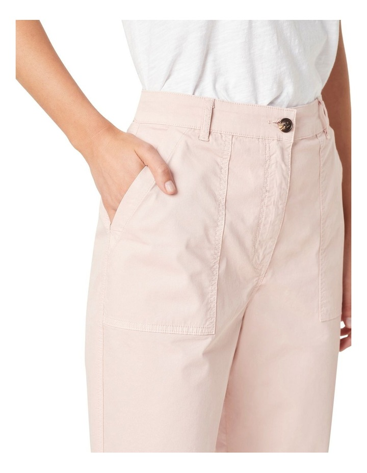 Relaxed Cotton Pant image 4