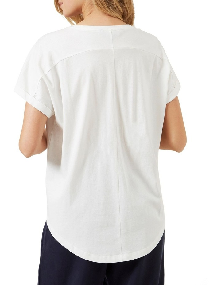 Soleil Embroidered T Shirt image 3