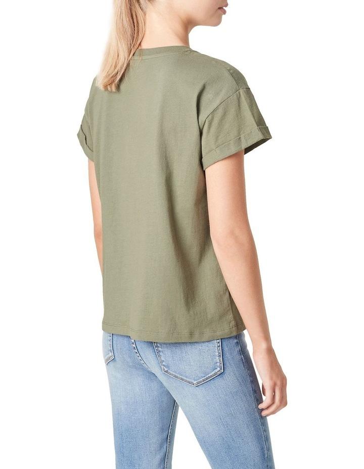 Boyfriend Organic Crew T-Shirt image 3