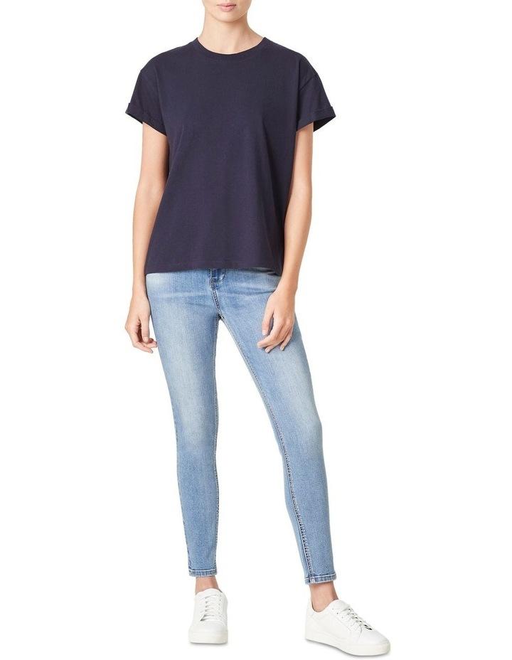 Boyfriend Organic Crew T-Shirt image 2
