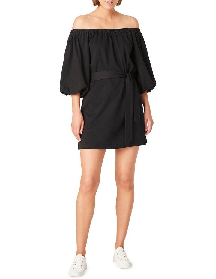Off Shoulder Jersey Dress image 1