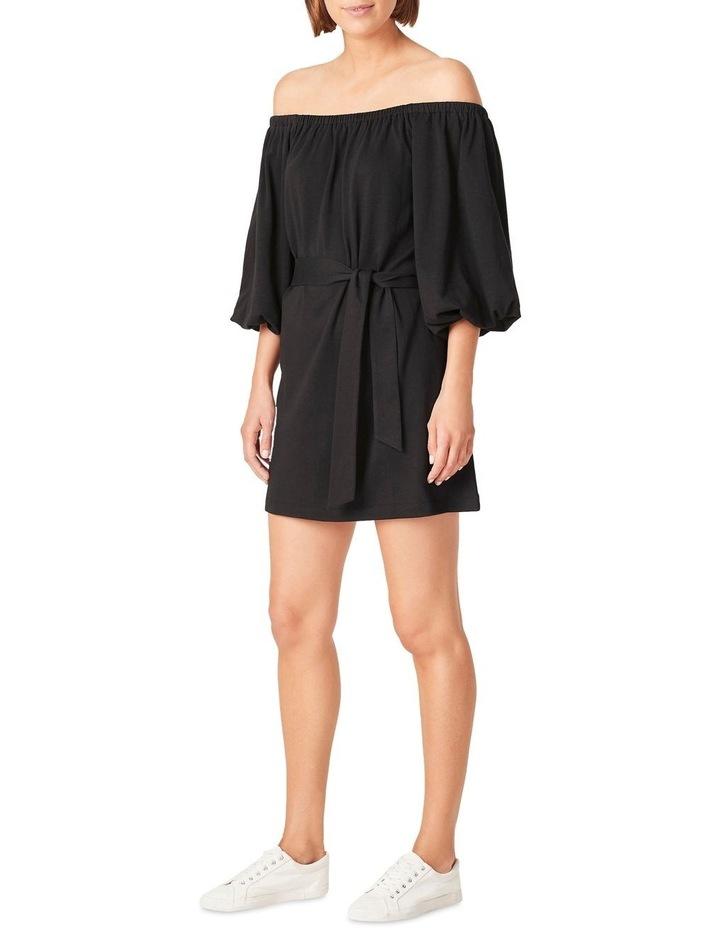Off Shoulder Jersey Dress image 2