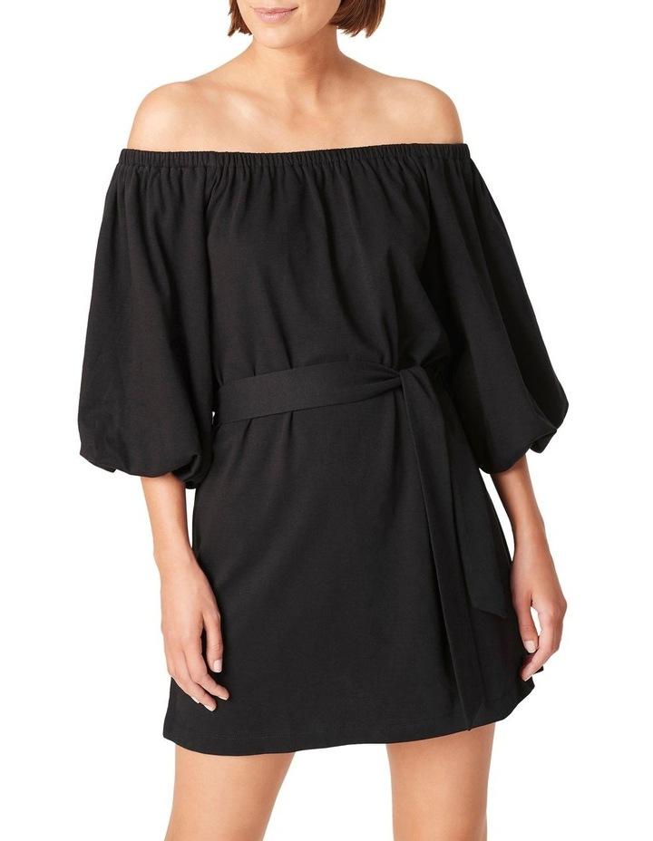 Off Shoulder Jersey Dress image 4