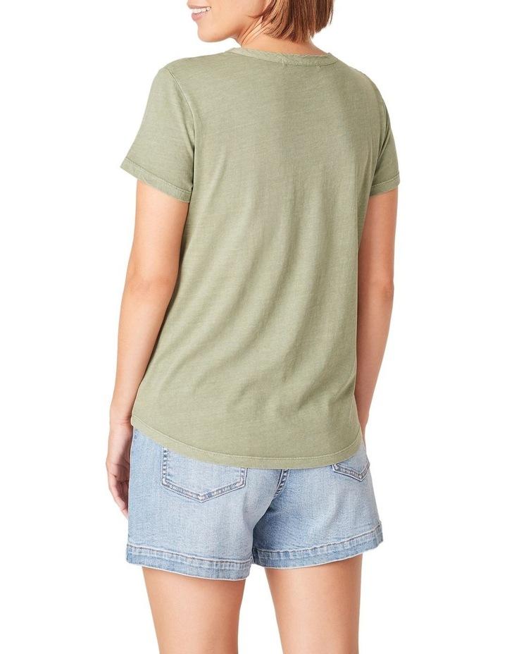 Vintage Wash Pocket T Shirt image 3