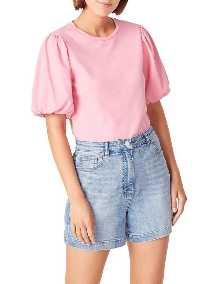 Blouson Sleeve T Shirt image 1