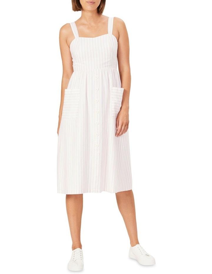 Stripe Bustier Dress image 1