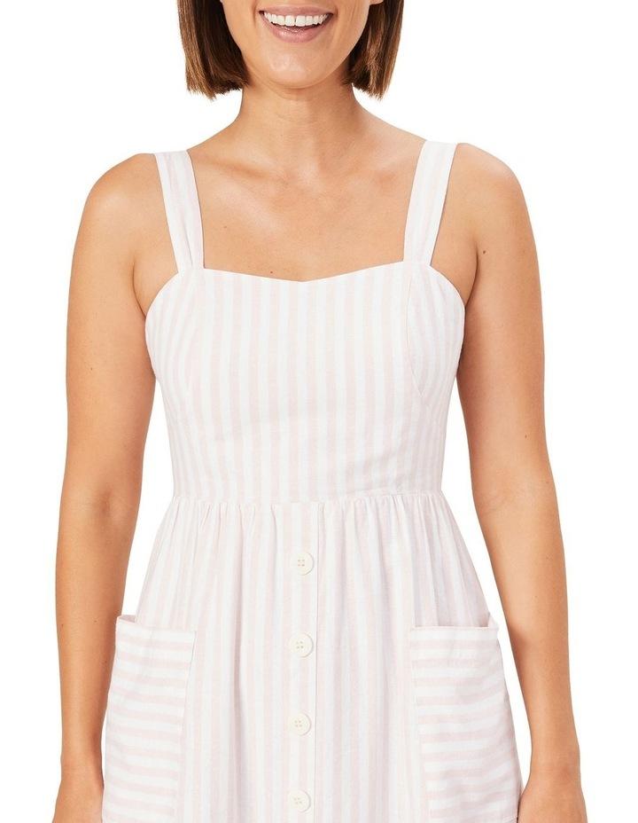 Stripe Bustier Dress image 4