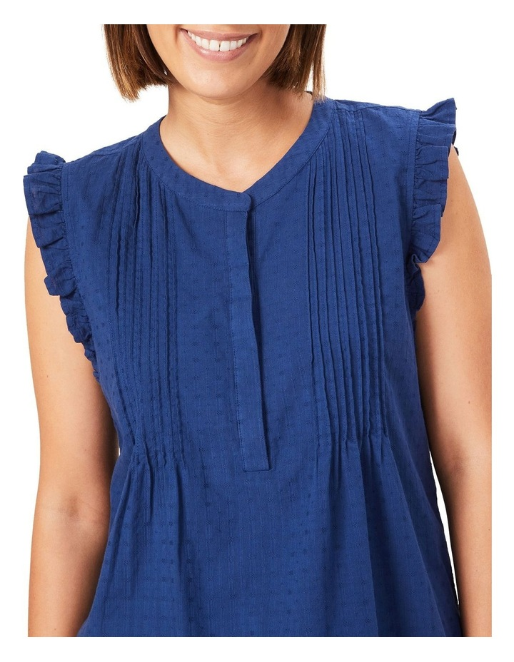 Cotton Frill Sleeve Top image 4