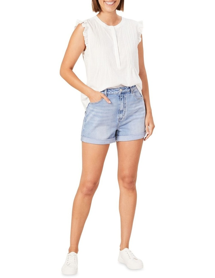 Cotton Frill Sleeve Top image 2
