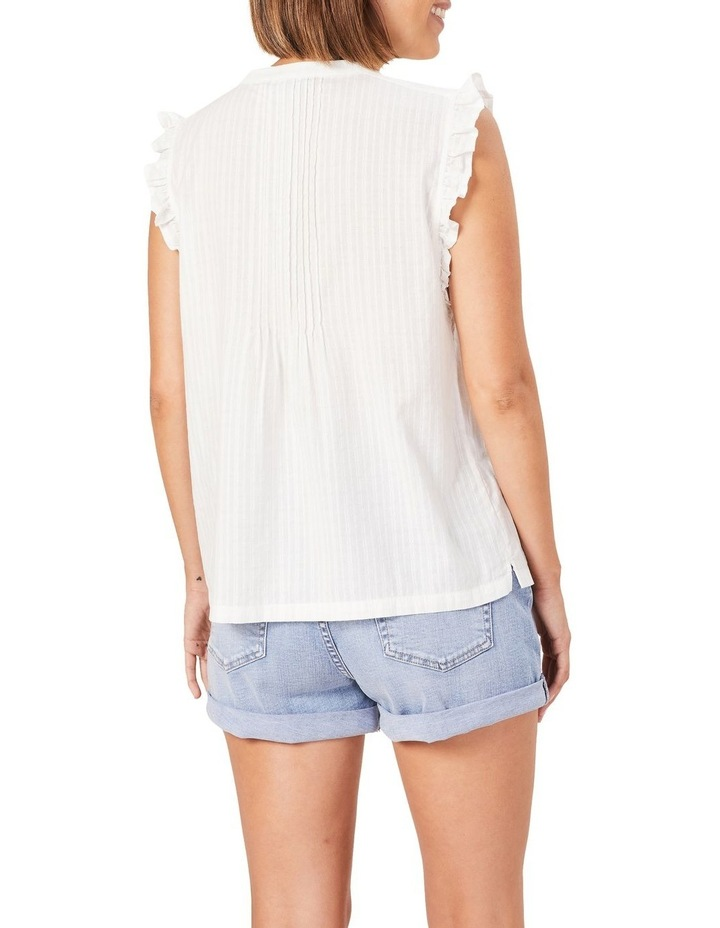 Cotton Frill Sleeve Top image 3