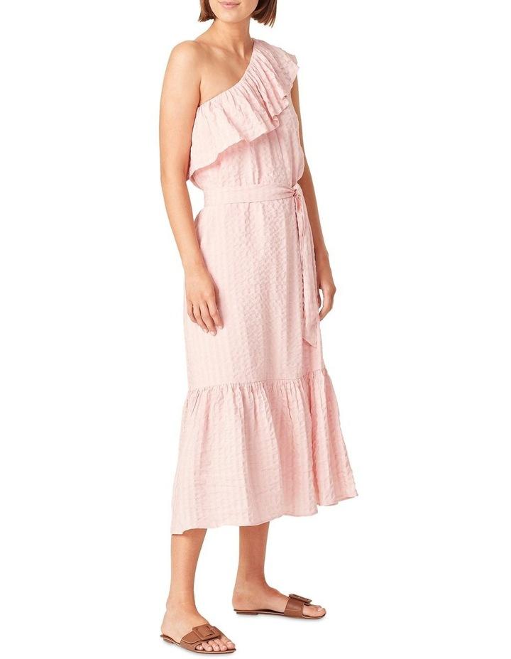 One Shoulder Textured Dress image 2