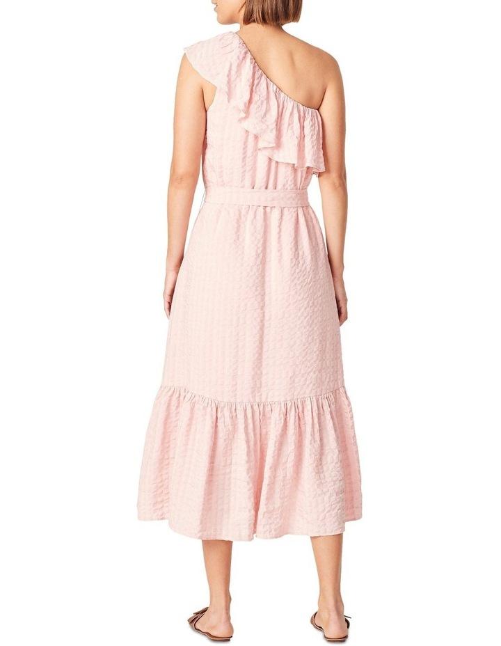 One Shoulder Textured Dress image 3