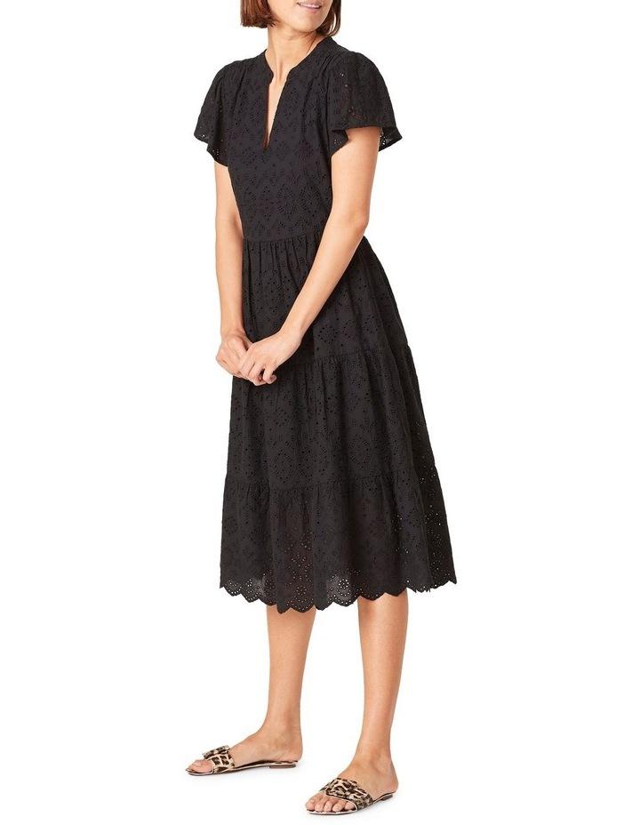 Broderie Midi Dress image 2