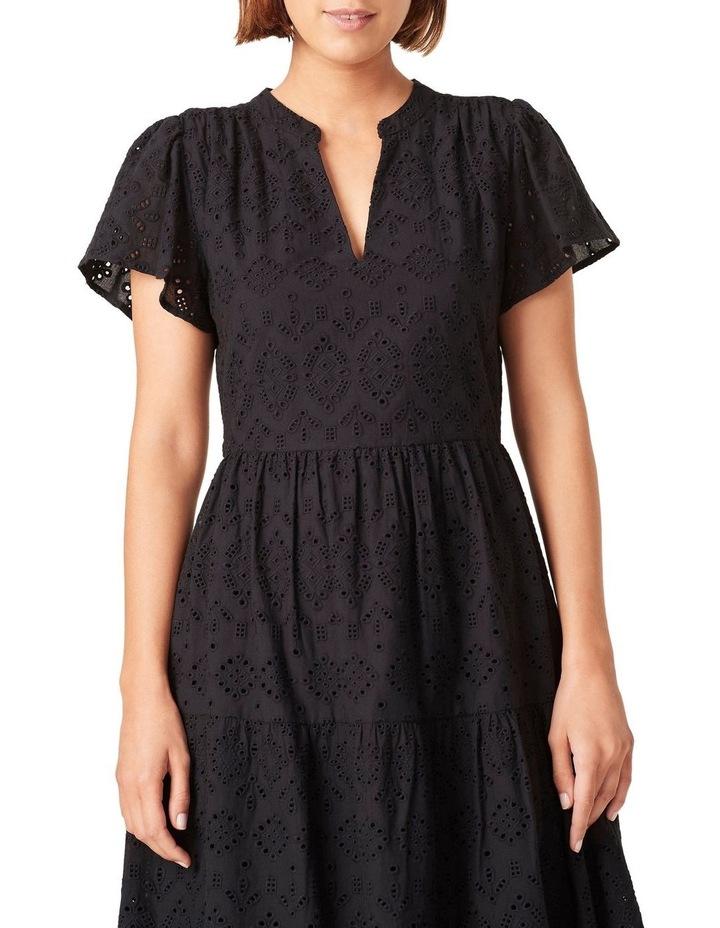 Broderie Midi Dress image 4