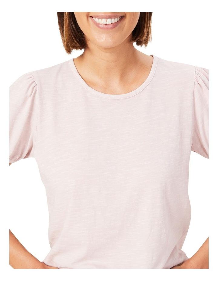 Washed Puff Sleeve T Shirt image 4