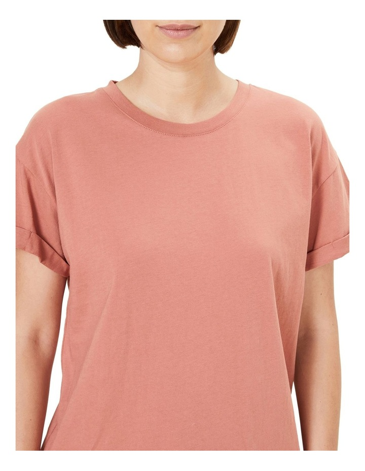 Boyfriend Organic Crew T Shirt image 4
