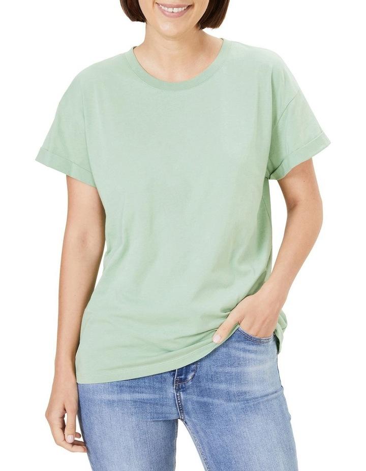 Boyfriend Organic Crew T Shirt image 1